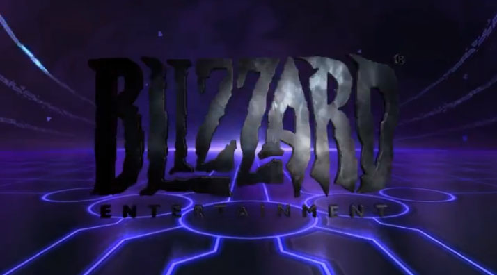 The logo treatment for the Heroes of the Storm trailers.